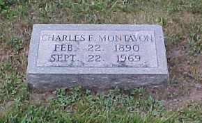 MONTAVON, CHARLES F. - Scioto County, Ohio   CHARLES F. MONTAVON - Ohio Gravestone Photos