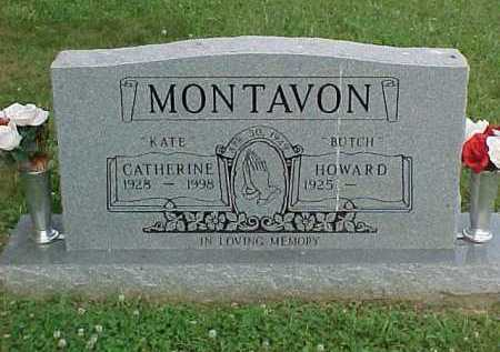 "MONTAVON, CATHERINE ""KATE"" - Scioto County, Ohio | CATHERINE ""KATE"" MONTAVON - Ohio Gravestone Photos"