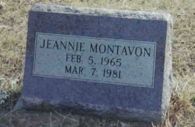 MONTAVON, JEANNIE - Scioto County, Ohio | JEANNIE MONTAVON - Ohio Gravestone Photos