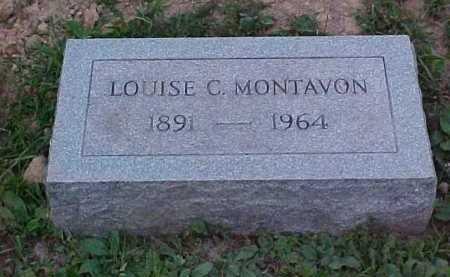 MONTAVON, LOUISE C. - Scioto County, Ohio   LOUISE C. MONTAVON - Ohio Gravestone Photos