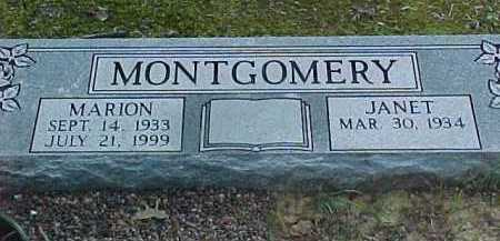 MONTGOMERY, MARION - Scioto County, Ohio | MARION MONTGOMERY - Ohio Gravestone Photos