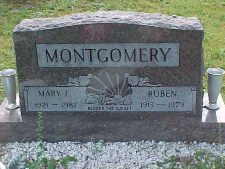 MONTGOMERY, MARY F. - Scioto County, Ohio | MARY F. MONTGOMERY - Ohio Gravestone Photos