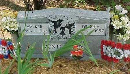MONTGOMERY, DELPHIA - Scioto County, Ohio | DELPHIA MONTGOMERY - Ohio Gravestone Photos