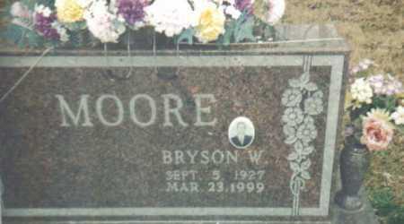 MOORE, BRYSON W. - Scioto County, Ohio   BRYSON W. MOORE - Ohio Gravestone Photos