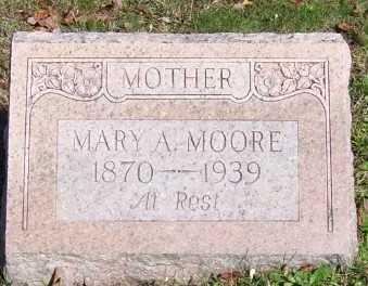 MOORE, MARY A. - Scioto County, Ohio   MARY A. MOORE - Ohio Gravestone Photos
