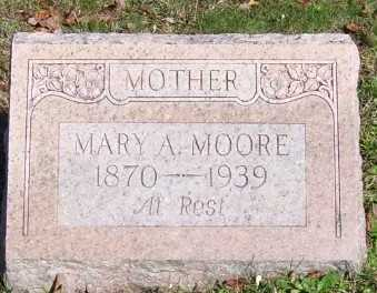 MOORE, MARY A. - Scioto County, Ohio | MARY A. MOORE - Ohio Gravestone Photos