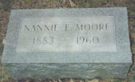 MOORE, NANNIE E. - Scioto County, Ohio | NANNIE E. MOORE - Ohio Gravestone Photos