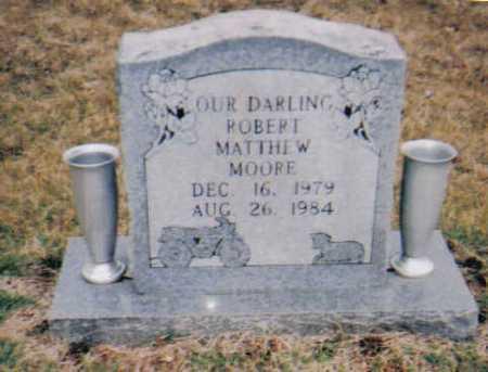 MOORE, ROBERT MATTHEW - Scioto County, Ohio | ROBERT MATTHEW MOORE - Ohio Gravestone Photos