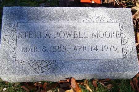 POWELL MOORE, STELLA - Scioto County, Ohio   STELLA POWELL MOORE - Ohio Gravestone Photos