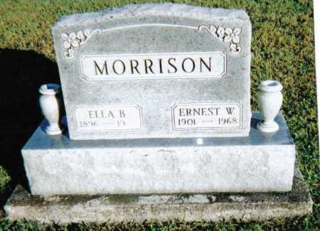 MORRISON, ELLA B. - Scioto County, Ohio | ELLA B. MORRISON - Ohio Gravestone Photos