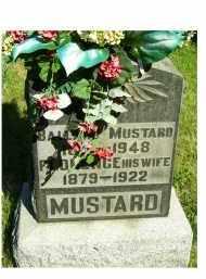 MUSTARD, BALLARD - Scioto County, Ohio | BALLARD MUSTARD - Ohio Gravestone Photos