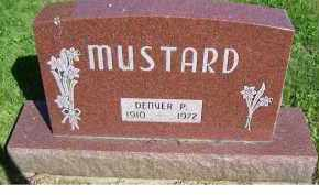 MUSTARD, DENVER P. - Scioto County, Ohio | DENVER P. MUSTARD - Ohio Gravestone Photos