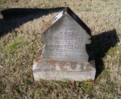 MUSTARD, LELAND H. - Scioto County, Ohio   LELAND H. MUSTARD - Ohio Gravestone Photos