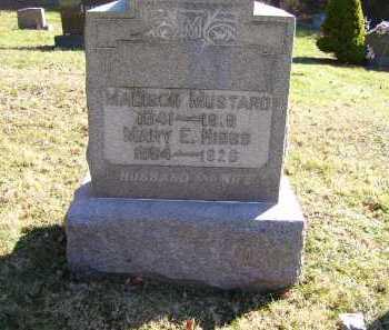 HIBBS MUSTARD, MARY E. - Scioto County, Ohio | MARY E. HIBBS MUSTARD - Ohio Gravestone Photos