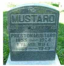MUSTARD, EVA - Scioto County, Ohio   EVA MUSTARD - Ohio Gravestone Photos