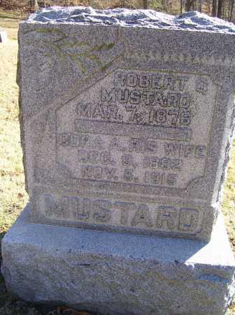 WALLACE MUSTARD, CORA A. - Scioto County, Ohio | CORA A. WALLACE MUSTARD - Ohio Gravestone Photos
