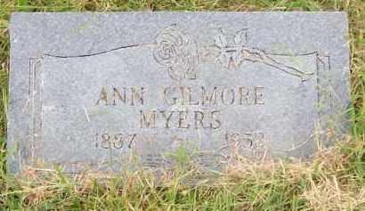 MYERS, ANN - Scioto County, Ohio | ANN MYERS - Ohio Gravestone Photos