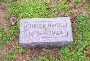NAGEL, CHRIS F. - Scioto County, Ohio | CHRIS F. NAGEL - Ohio Gravestone Photos