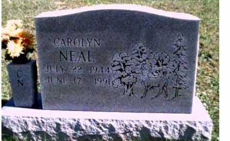NEAL, CAROLYN - Scioto County, Ohio   CAROLYN NEAL - Ohio Gravestone Photos
