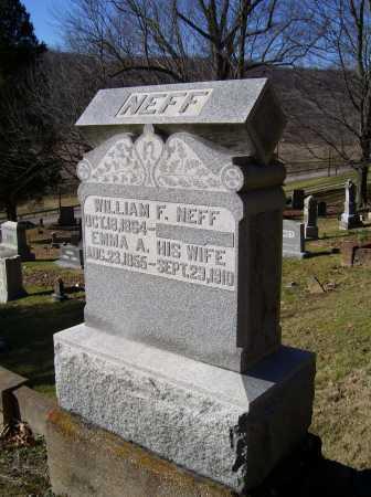 NEFF, WILLIAM F. - Scioto County, Ohio | WILLIAM F. NEFF - Ohio Gravestone Photos