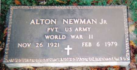 NEWMAN, ALTON JR. - Scioto County, Ohio | ALTON JR. NEWMAN - Ohio Gravestone Photos