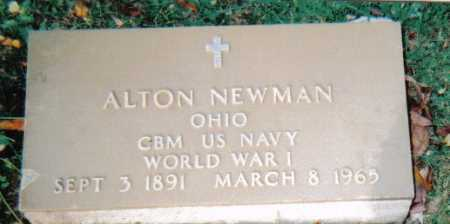 NEWMAN, ALTON - Scioto County, Ohio | ALTON NEWMAN - Ohio Gravestone Photos