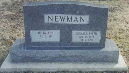 NEWMAN, JULIA ANN - Scioto County, Ohio | JULIA ANN NEWMAN - Ohio Gravestone Photos