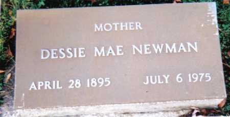 NEWMAN, DESSIE MAE - Scioto County, Ohio | DESSIE MAE NEWMAN - Ohio Gravestone Photos