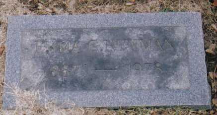 NEWMAN, EMMA - Scioto County, Ohio   EMMA NEWMAN - Ohio Gravestone Photos