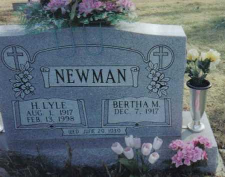 NEWMAN, H. LYLE - Scioto County, Ohio | H. LYLE NEWMAN - Ohio Gravestone Photos