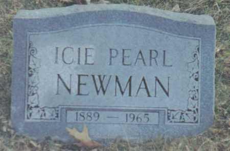 NEWMAN, ICIE PEARL - Scioto County, Ohio | ICIE PEARL NEWMAN - Ohio Gravestone Photos