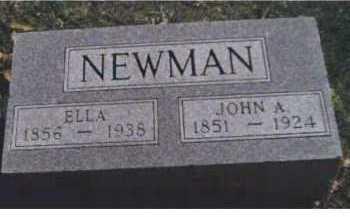 NEWMAN, JOHN A. - Scioto County, Ohio   JOHN A. NEWMAN - Ohio Gravestone Photos