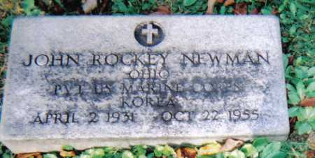 NEWMAN, JOHN ROCKEY - Scioto County, Ohio   JOHN ROCKEY NEWMAN - Ohio Gravestone Photos
