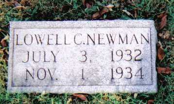 NEWMAN, LOWELL C. - Scioto County, Ohio | LOWELL C. NEWMAN - Ohio Gravestone Photos
