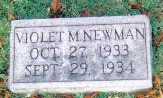 NEWMAN, VIOLET M. - Scioto County, Ohio | VIOLET M. NEWMAN - Ohio Gravestone Photos