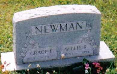 HACKWORTH NEWMAN, GRACE F. - Scioto County, Ohio | GRACE F. HACKWORTH NEWMAN - Ohio Gravestone Photos