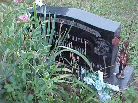 SCHUYLER NICHOLSON, JESSE - Scioto County, Ohio | JESSE SCHUYLER NICHOLSON - Ohio Gravestone Photos