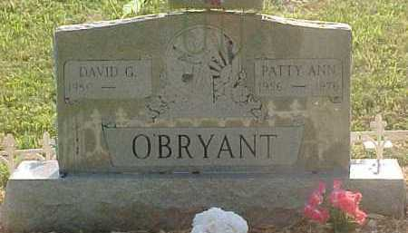 O'BRYANT, DAVID G. - Scioto County, Ohio | DAVID G. O'BRYANT - Ohio Gravestone Photos