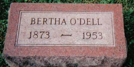 O'DELL, BERTHA - Scioto County, Ohio   BERTHA O'DELL - Ohio Gravestone Photos