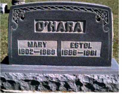 O'HARA, MARY - Scioto County, Ohio | MARY O'HARA - Ohio Gravestone Photos