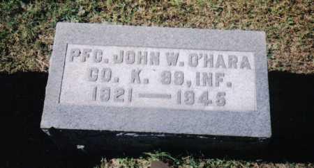 O'HARA, JOHN W. - Scioto County, Ohio | JOHN W. O'HARA - Ohio Gravestone Photos