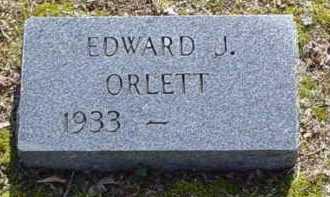 ORLETT, EDWARD J. - Scioto County, Ohio | EDWARD J. ORLETT - Ohio Gravestone Photos
