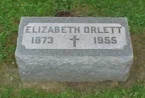 ORLETT, ELIZABETH - Scioto County, Ohio | ELIZABETH ORLETT - Ohio Gravestone Photos