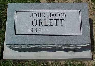 ORLETT, JOHN JACOB - Scioto County, Ohio   JOHN JACOB ORLETT - Ohio Gravestone Photos