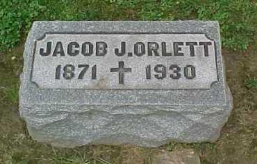 ORLETT, JACOB J. - Scioto County, Ohio | JACOB J. ORLETT - Ohio Gravestone Photos