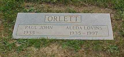 ORLETT, PAUL JOHN - Scioto County, Ohio   PAUL JOHN ORLETT - Ohio Gravestone Photos