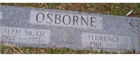 OSBORNE, FLORENCE O. - Scioto County, Ohio   FLORENCE O. OSBORNE - Ohio Gravestone Photos