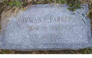 PARKER, NORMAN L. - Scioto County, Ohio   NORMAN L. PARKER - Ohio Gravestone Photos