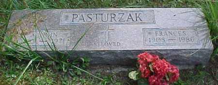 PASTURZAK, FRANCES - Scioto County, Ohio | FRANCES PASTURZAK - Ohio Gravestone Photos