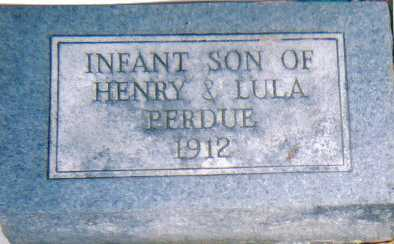 PERDUE, INFANT - Scioto County, Ohio | INFANT PERDUE - Ohio Gravestone Photos